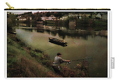 Fishing The Loire River Carry-all Pouch by Hugh Smith