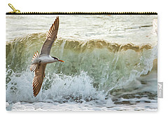 Fishing The Surf Carry-all Pouch