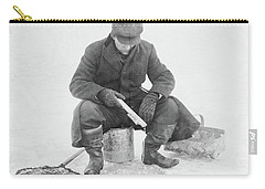 Fishing Through Ice Carry-all Pouch