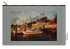 Carry-all Pouch featuring the photograph Fishing Trips Daily by Thom Zehrfeld