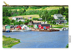 Fishing Village In Pei Carry-all Pouch