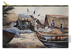 Fishing Village Of Puri Carry-all Pouch