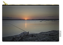 Fishing Poles Carry-all Pouch by Leticia Latocki
