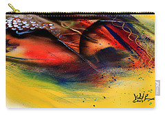 Fishtail Abstract Carry-all Pouch