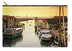 Carry-all Pouch featuring the photograph Fishtown by Alexey Stiop