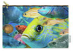 Fishy Collage 02 Carry-all Pouch