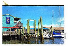 Fishy Fishy Waterside Carry-all Pouch by Shelia Kempf