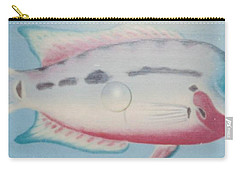 Fishy In Ocean Carry-all Pouch