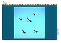 Five Ibis In Flight Carry-all Pouch