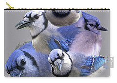 Five Of A Kind Carry-all Pouch by Skip Willits