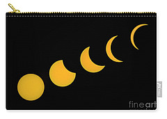 Five Phases Of The Eclipse Carry-all Pouch