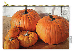Five Pumpkins Carry-all Pouch