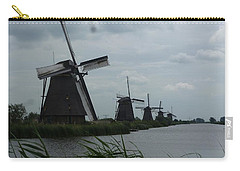 Five Windmills In Kinderdijk Carry-all Pouch