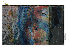 Carry-all Pouch featuring the painting Five Years by Paul Lovering