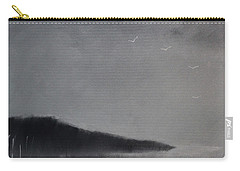 Carry-all Pouch featuring the painting Fjord Landscape by Tone Aanderaa
