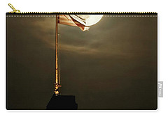 Flag And Moon -01 Carry-all Pouch