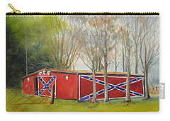 Flag Barn Carry-all Pouch