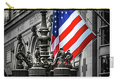 Flag In Chicago Carry-all Pouch