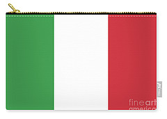 Carry-all Pouch featuring the digital art Flag Of Italy by Bruce Stanfield