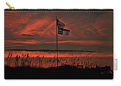 Flags And Sea Oats Carry-all Pouch