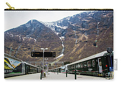 Carry-all Pouch featuring the photograph Flam Station by Suzanne Luft
