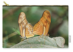Carry-all Pouch featuring the photograph Flambeau Butterfly - 2 by Paul Gulliver