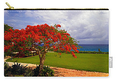 Flamboyant Tree In Grand Cayman Carry-all Pouch