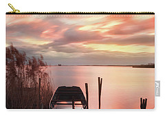 Carry-all Pouch featuring the photograph Flame In The Darkness by Davor Zerjav
