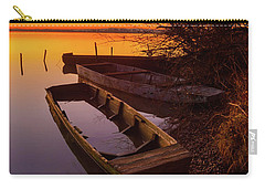 Carry-all Pouch featuring the photograph Flame Of Dawn by Davor Zerjav