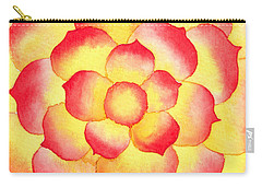 Flame Tip Watercolor Carry-all Pouch