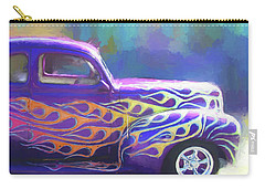 Flamed 1940 Ford Carry-all Pouch