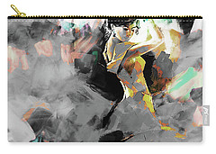 Carry-all Pouch featuring the painting Flamenco Dance Art 7u7 by Gull G
