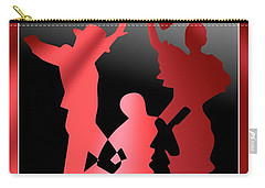 Flamenco Dancers Carry-all Pouch by Leo Symon