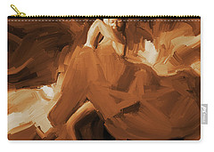 Carry-all Pouch featuring the painting Flamenco Flamenco  by Gull G