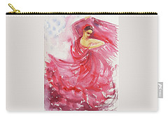 Flamenco Frenzy Carry-all Pouch