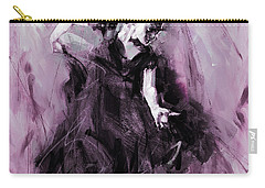 Carry-all Pouch featuring the painting Flamenco Spanish Dance Art by Gull G