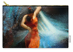 Flamencoscape 05 Carry-all Pouch by Miki De Goodaboom