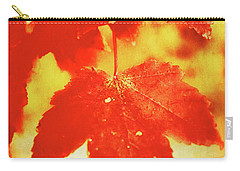 Flaming Autumn Carry-all Pouch
