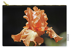 Flaming Floral Carry-all Pouch by Deborah  Crew-Johnson