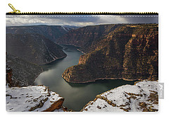 Carry-all Pouch featuring the photograph Flaming Gorge by Dustin LeFevre