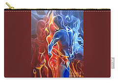 Flaming Lovers Carry-all Pouch