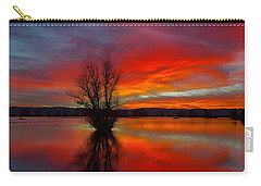 Flaming Reflections Carry-all Pouch