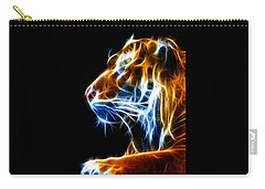 Flaming Tiger Carry-all Pouch