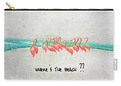 Flamingo Art I Carry-all Pouch