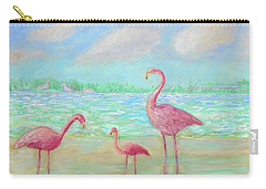 Flamingo Dreaming Carry-all Pouch