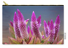 Flamingo Feather  Carry-all Pouch