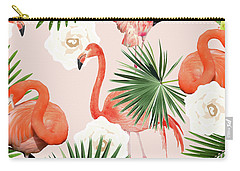Flamingo Guava Carry-all Pouch