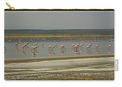 Flamingos Magadi Hot Springs Kenya Carry-all Pouch