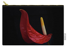 Flamingo Lily Carry-all Pouch