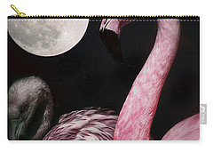 Flamingo Moon  Carry-all Pouch